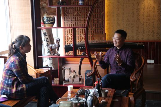 《聚焦三农》记者采访陈义总裁