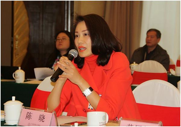 湖南宾之郎食品科技有限公司总经理陈晓女士